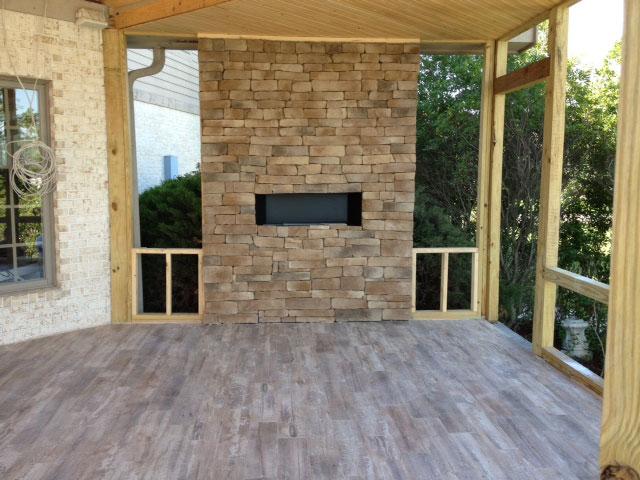 project outdoor patio stonepeak