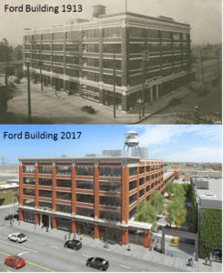 Ford Factory Commercial Roof Los Angeles