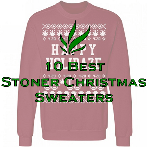 the 10 best stoner christmas sweaters on amazon