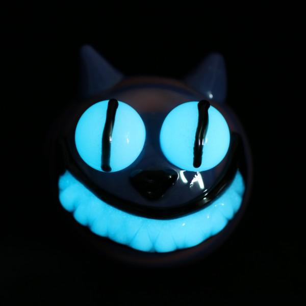 Cheshire Cat Glow In The Dark Pipe