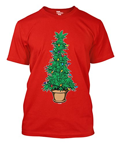 Marijuana Christmas Tree T-shirt