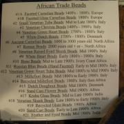 African Trade Bead display 011
