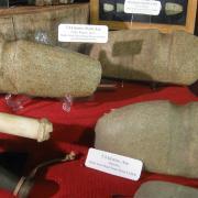 Indian Artifact Axe Display 009