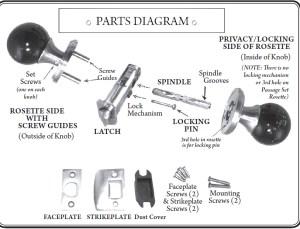 Gemstone Doorknobs  Gemstone Door Hardware & Spheres