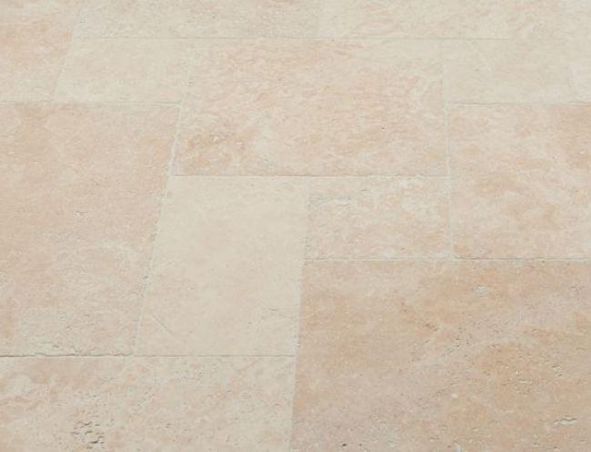 supreme ivory tumbled travertine tiles