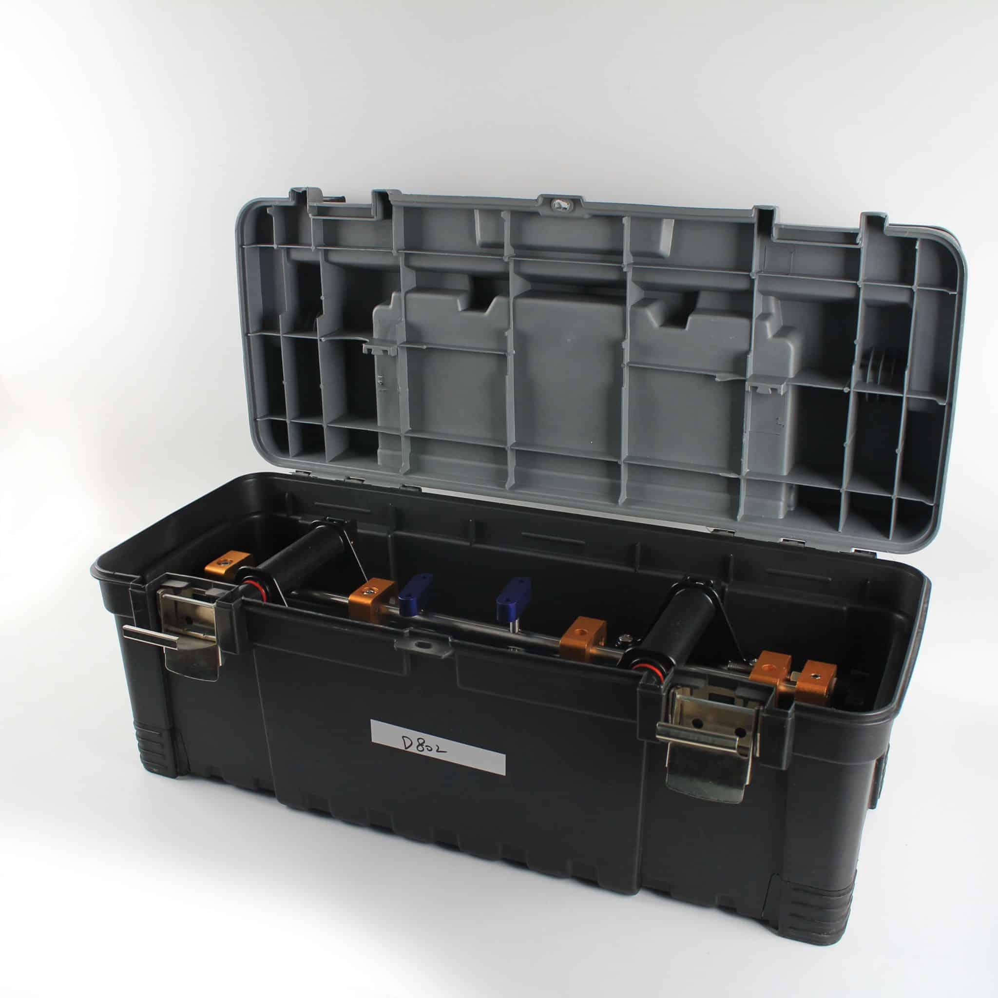Raizi 2 Pcs 90 degree 8 Inch Waterfall Seam Setter Granite Countertop With Professional Case Manual Installation Tools