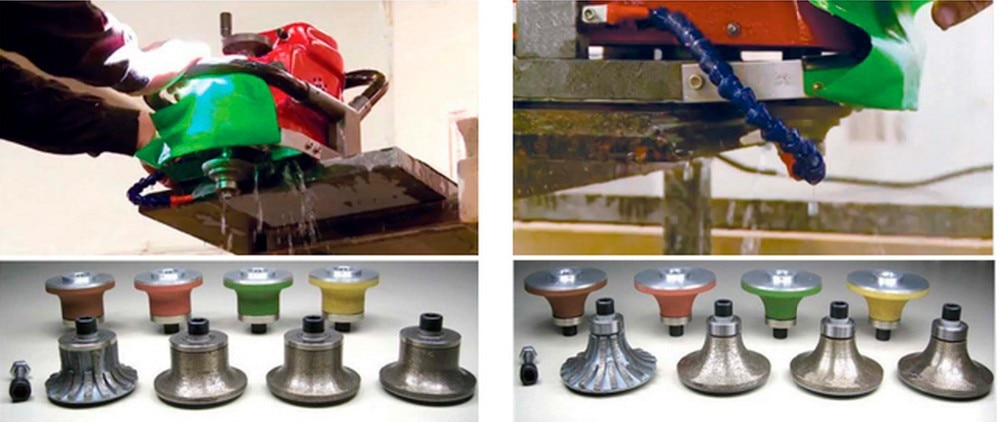 wet polisher profile grinder router Edge Profiling for stone marble granite ceramic tiles stone