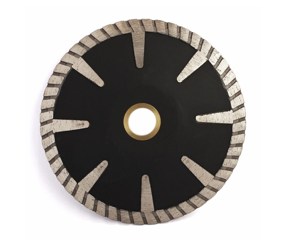 "Diamond Turbo Rim | Saw Blade Concave Curved | 5""-125mm | Cutting Disc Granite Marble Saw blade Diamond Circular Saw  2pcs"