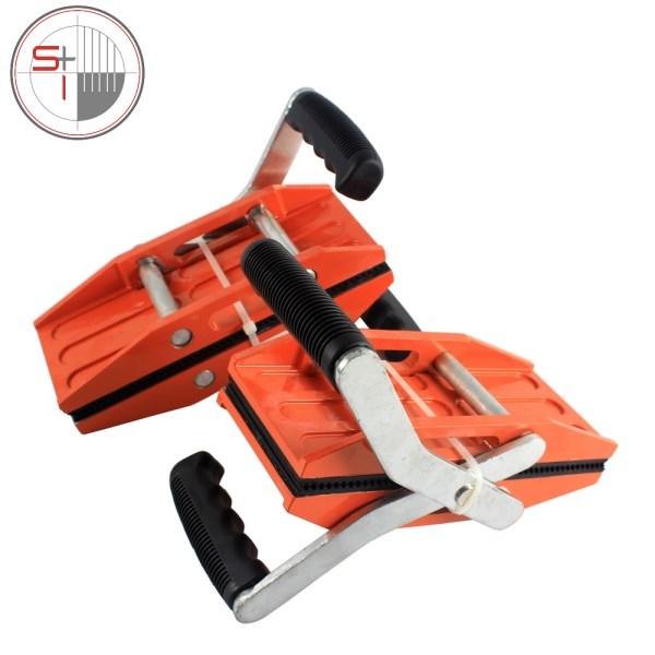 Double Handed Granite Carry Clamps Glass Granite Stone Handling Lifting Tools One Pair