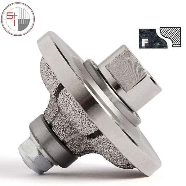 Vacuum Brazed F20 Diamond Router Bit