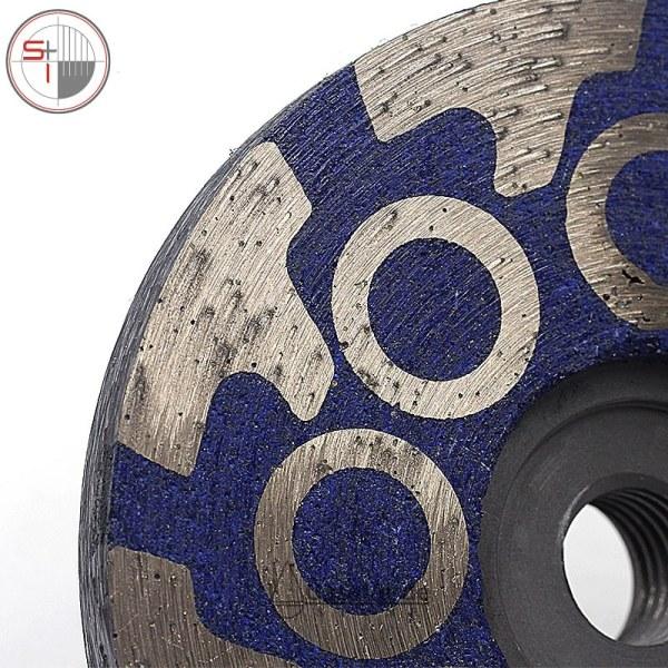 Diamond turbo grinding discs for grinding and polishing stone