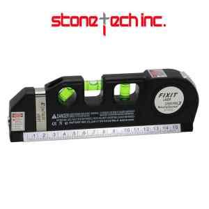 Level Laser Horizon Vertical Measure Tape