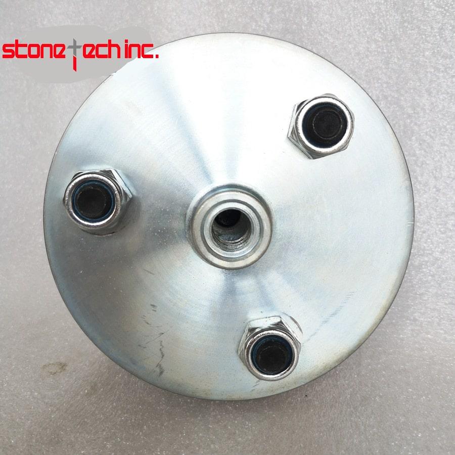 Bush hammer Plate for marble D125X3 HeadsX30Teeth