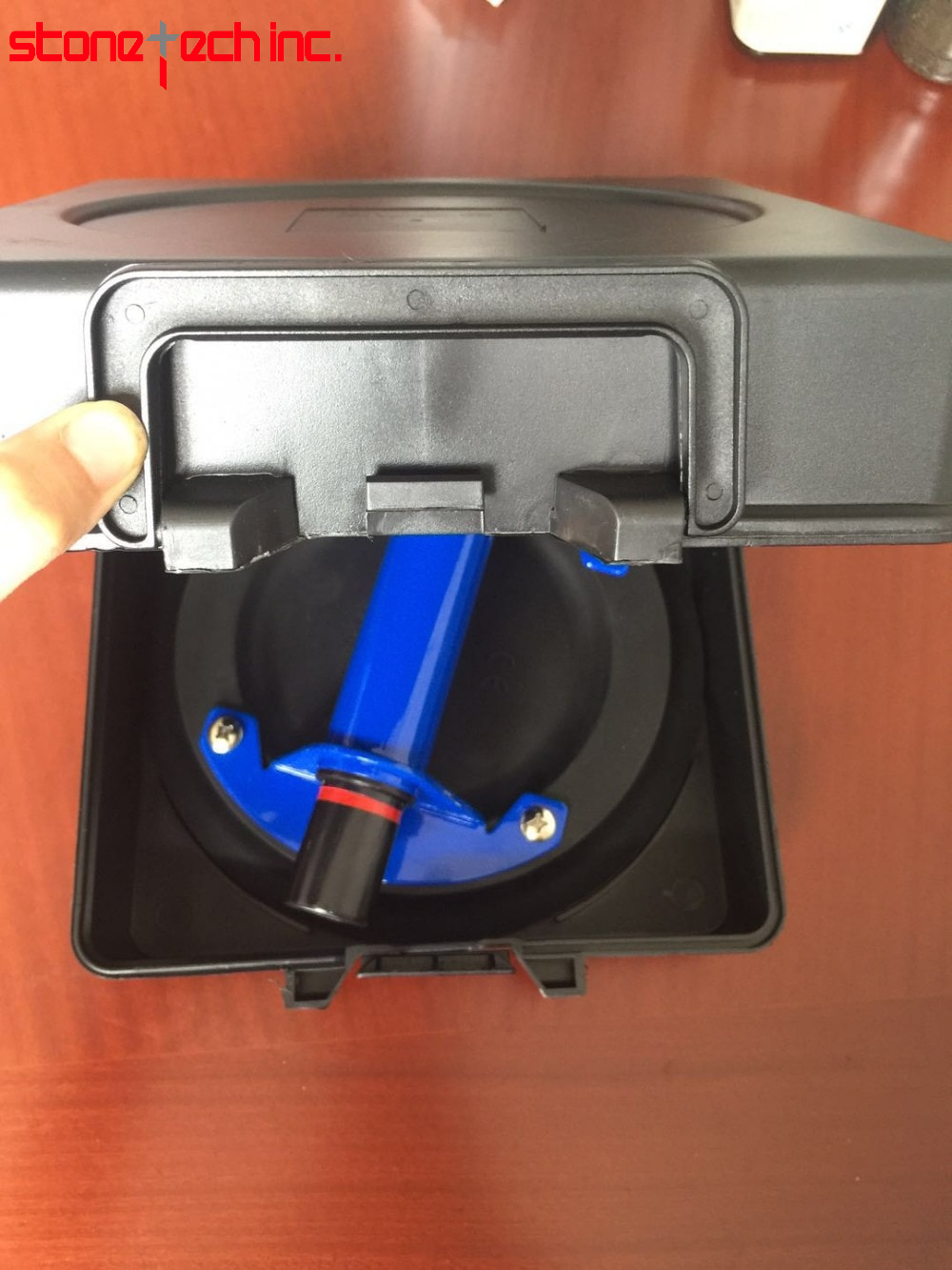 """Vacuum cup metal handle ABS pump for Granite & Glass Lifting - 8""""suction"""
