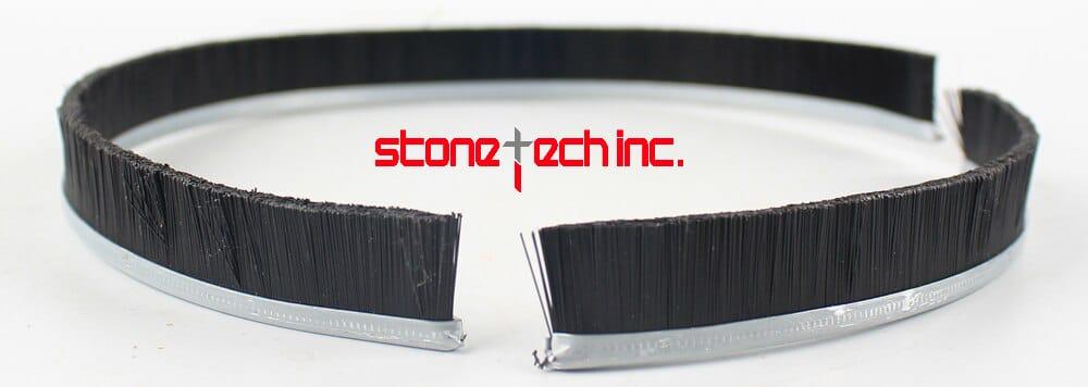 Raizi 1 Pc Separable Brush For 125/180 mm Dust Shroud Cover Tool Grinder Shroud Replaceble Brushes