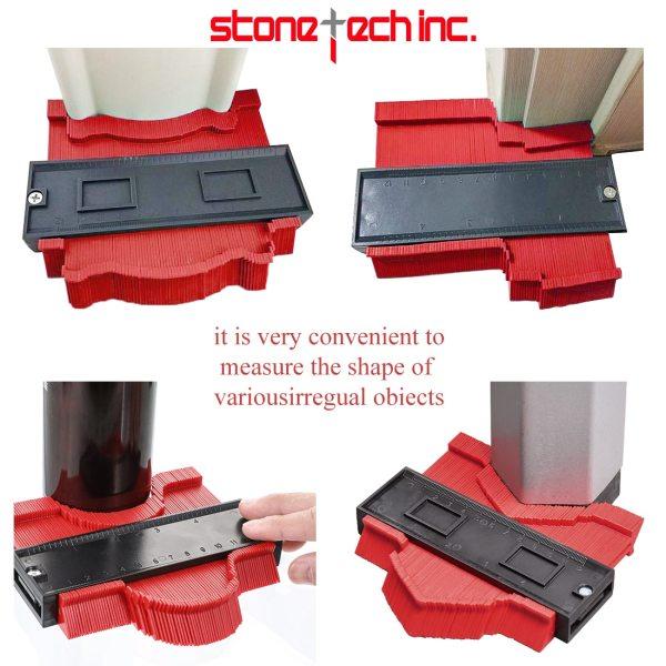 Contour Gauge Profile Tiles Tool