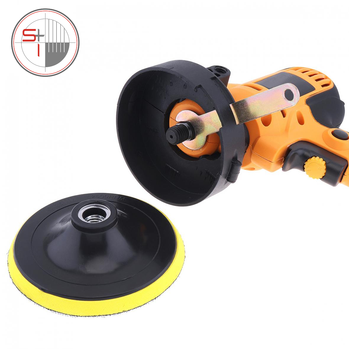 Electric Polisher Waxing Machine Floor for Car