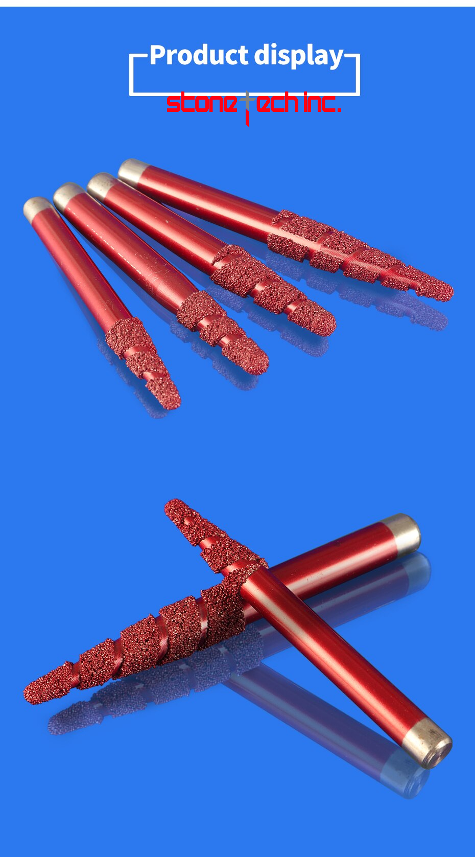 Multi Layer Vacuum Brazed Stone Bit cutter tools cutting tools - 1 pcs