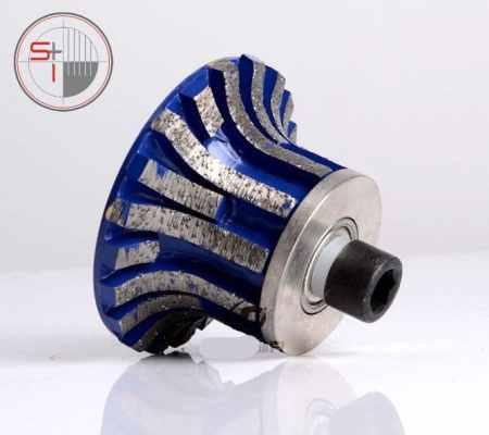 Diamond profiling wheel for portable grinding machines | 0# Shape A