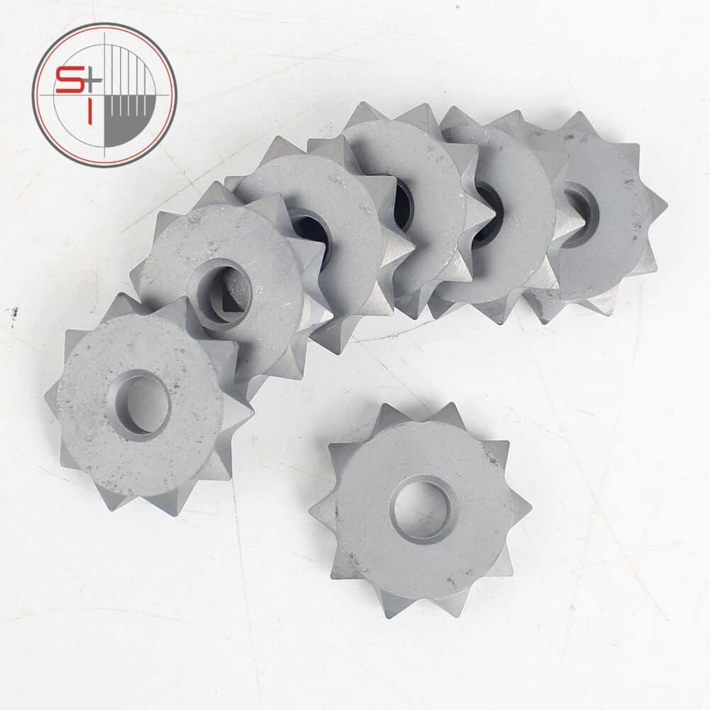 Bush Hammer Wheel Plate for Hammered Granite Marble Concrete