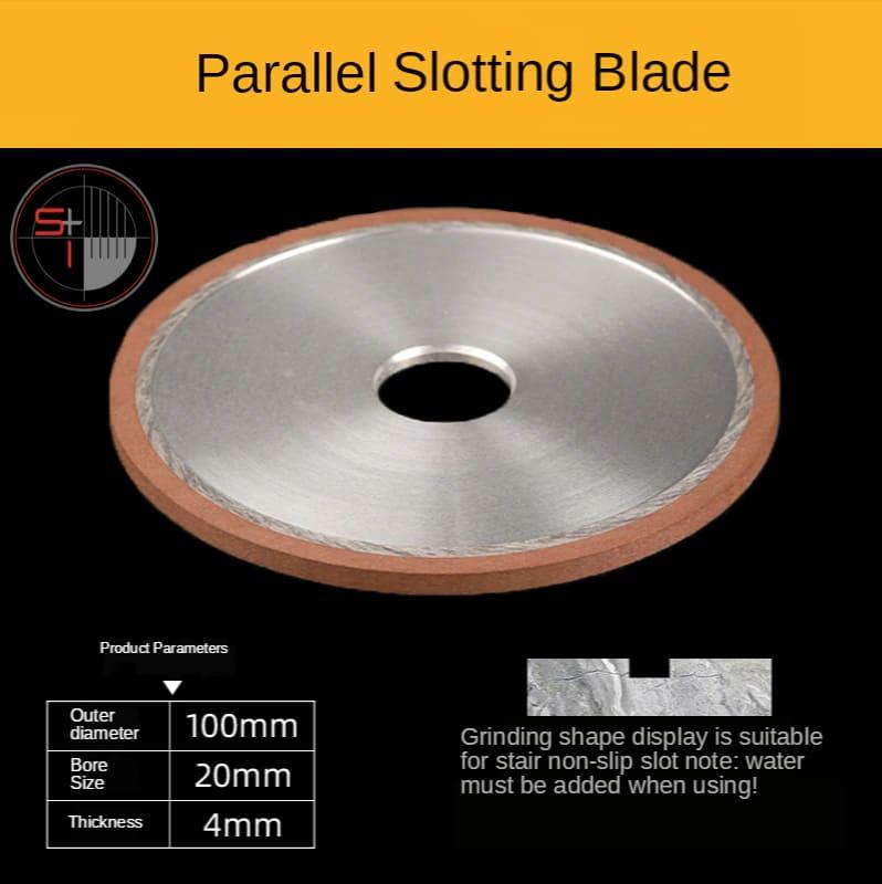 Tile cutting machine ceramic tile bevel round edge grinding wheel slotting saw blade