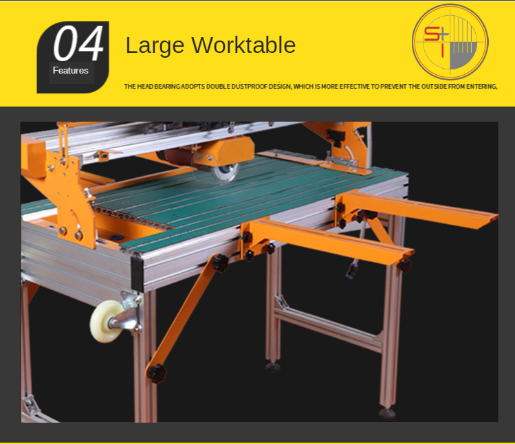 Chamfering Electric Floor Tile Cutter Automatic Marble Stone Ceramic Tile Cutting Machine