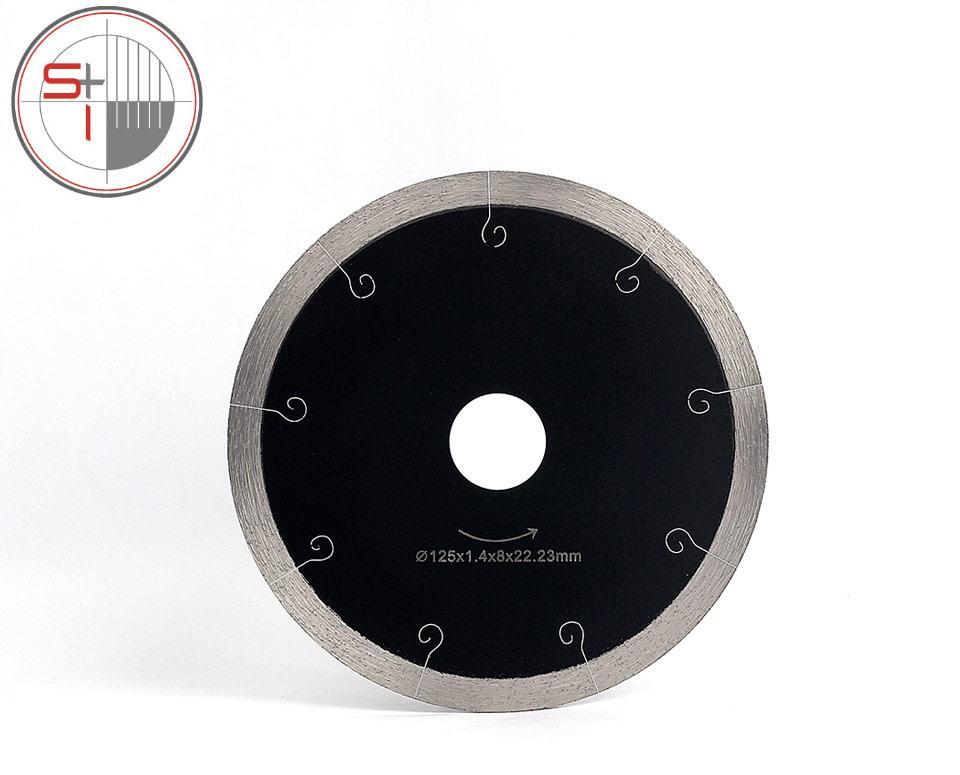 Z-LEAP 5 Inch Ceramic Tile Cutting Disc Marble Saw Blade Professional Diamond Cutting Tool Hot Pressed Segments Fast Sharpen Cut