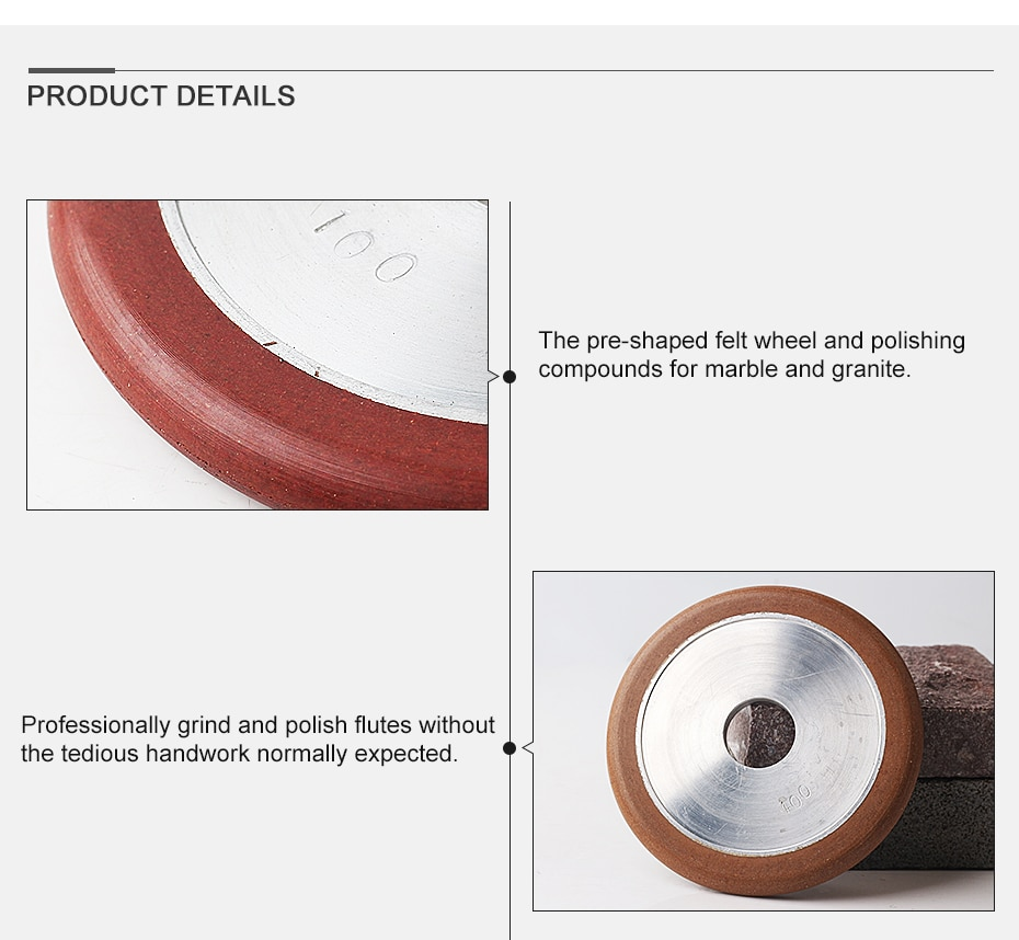 100# 4 inch resin wet use grooving and grinding wheels for flute grinding granite and marble