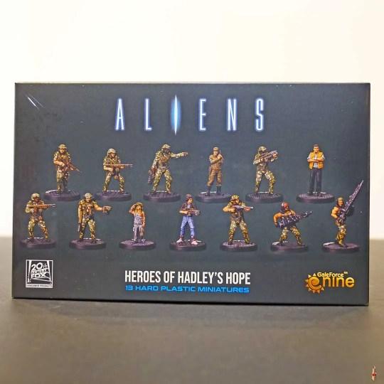 aliens heroes of hadley hope front