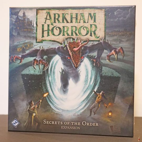 arkham horror 3e secrets of the order front
