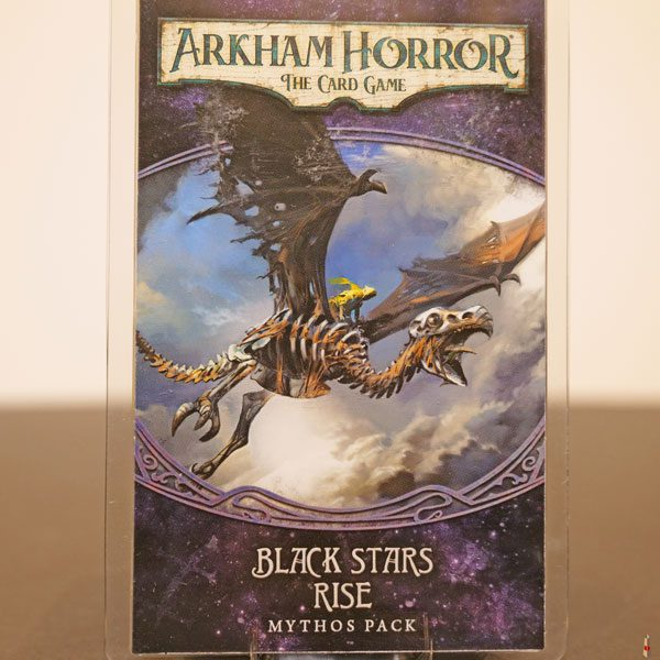 arkham horror card game black stars rise front