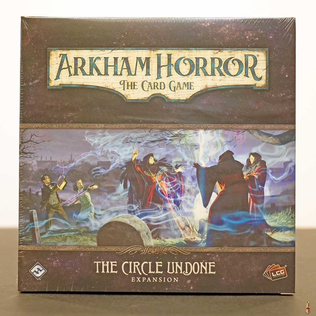 arkham horror card game circle undone front