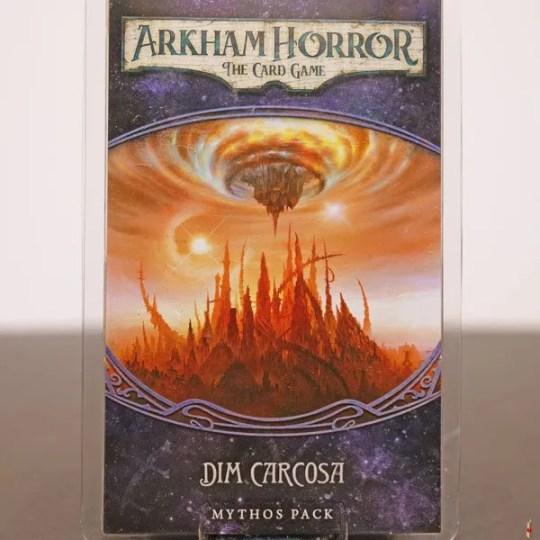arkham horror card game dim carcosa front