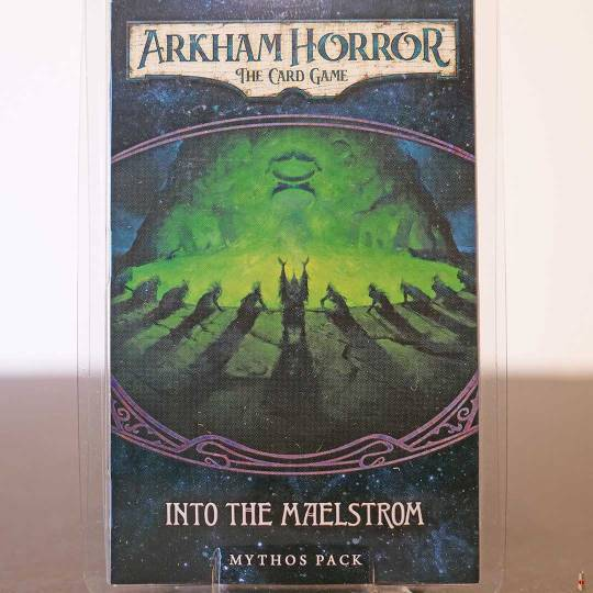 arkham horror card game into the maelstrom front
