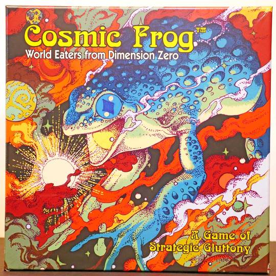 cosmic frog front