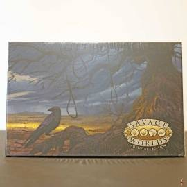 deadlands the weird west gm screen adventure swade front