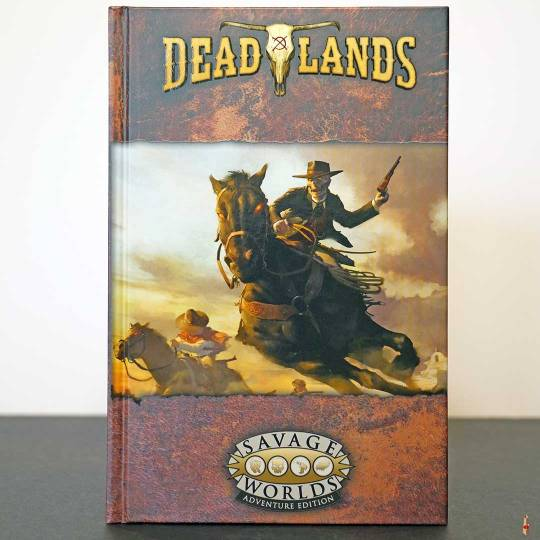 deadlands weird west core rulebook swade front