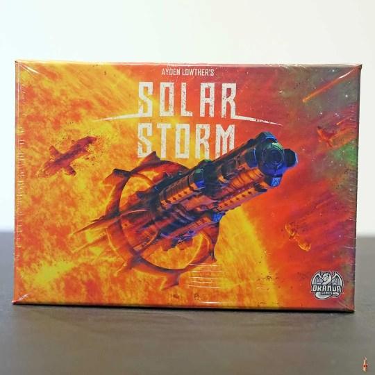 solar storm front
