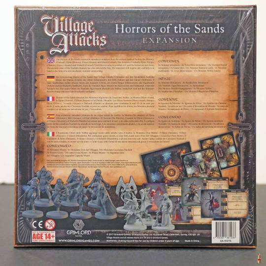 village attacks horrors of the sands back