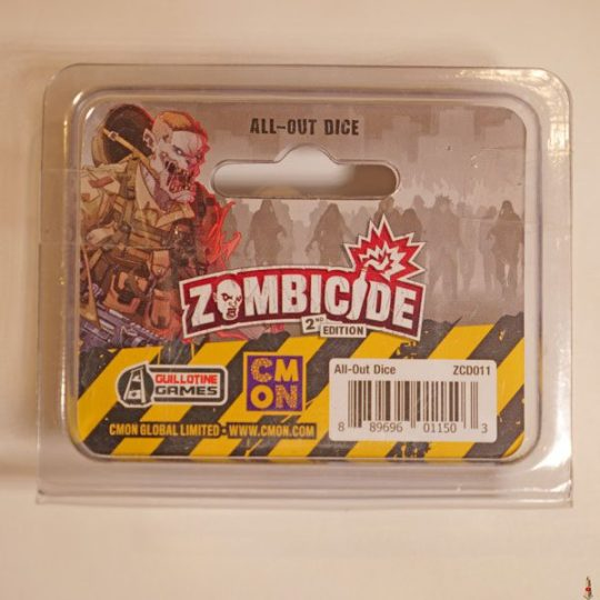 zombicide 2e all out dice back