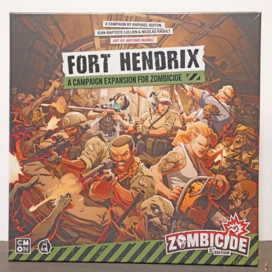 zombicide 2e fort hendrix front