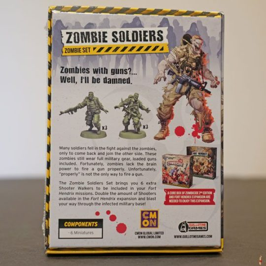 zombicide 2e zombie soldiers set back