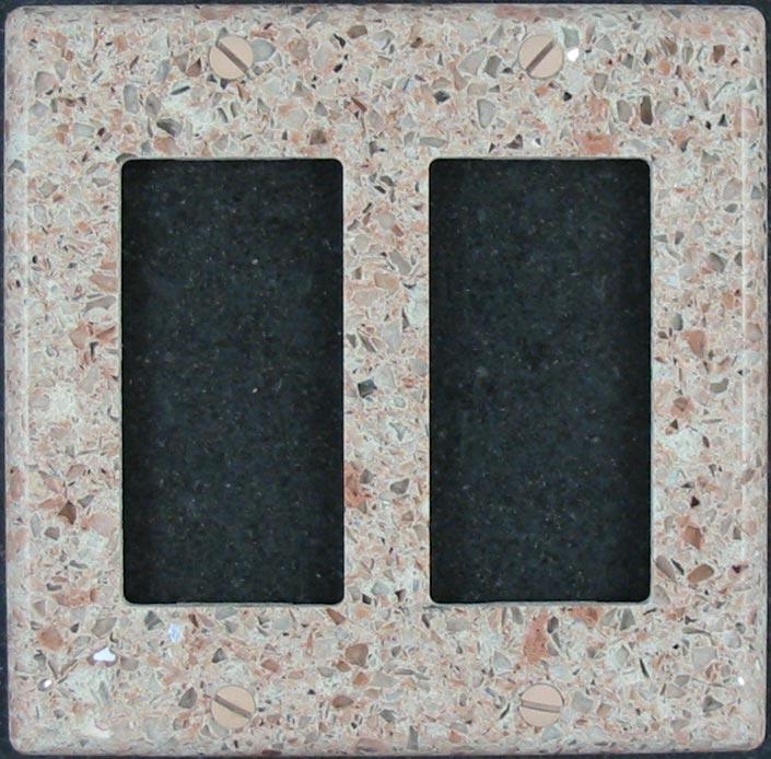 Ceramic Switch Plates Stone