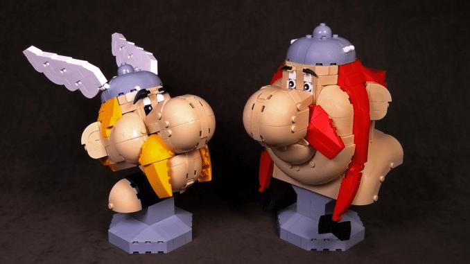 LEGO Ideas Asterix Obelix (1)