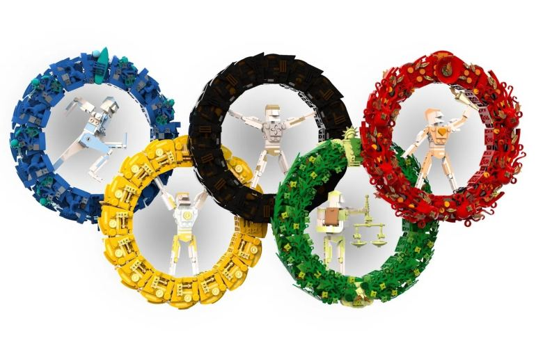 LEGO Ideas Contest Sports Olympic Rings