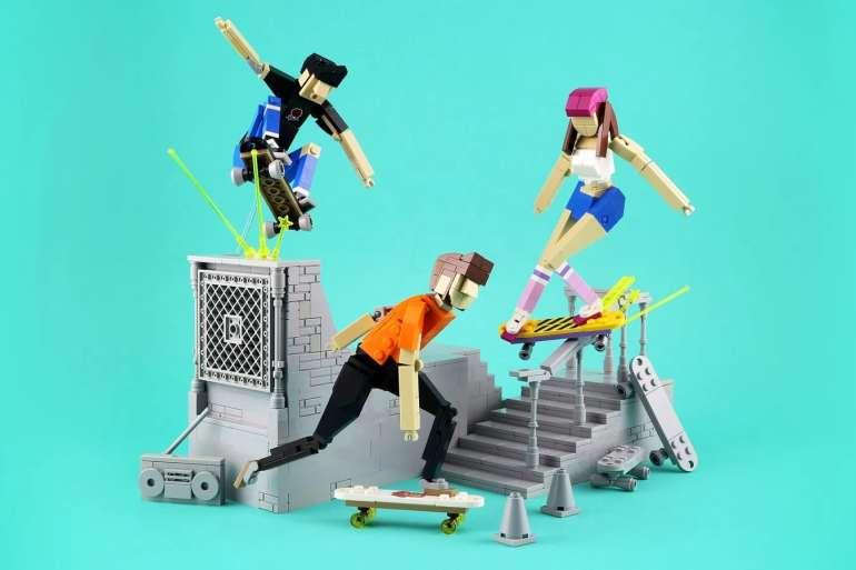 LEGO Ideas Contest Sports Skateboard