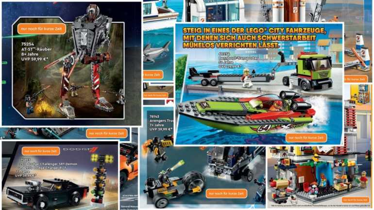 LEGO catalog 2021 only for a short time