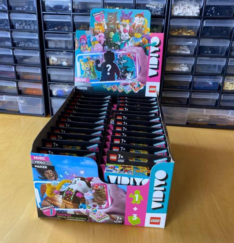 LEGO Vidiyo Minifiguren Box