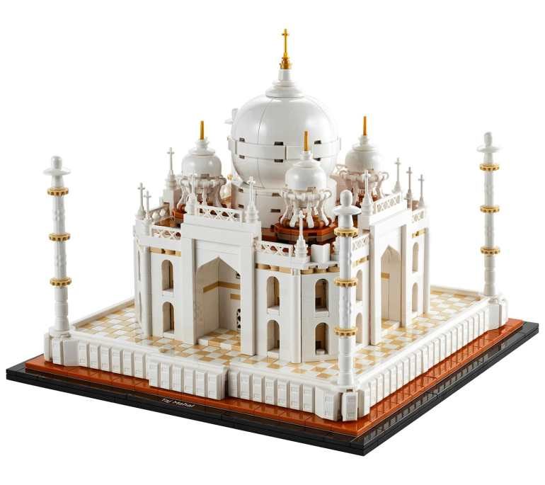 LEGO Taj Mahal Slider: Architecture Model