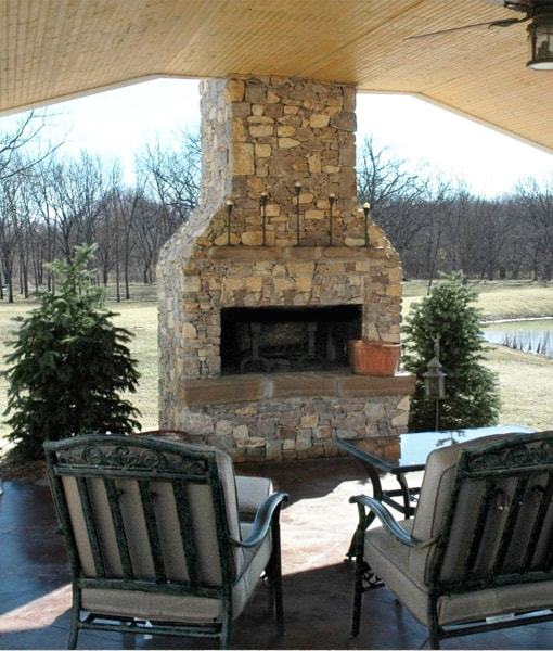 Outdoor Fireplaces - DIY Kits & Plans   Cape Cod MA RI ... on Diy Outside Fireplace id=15025